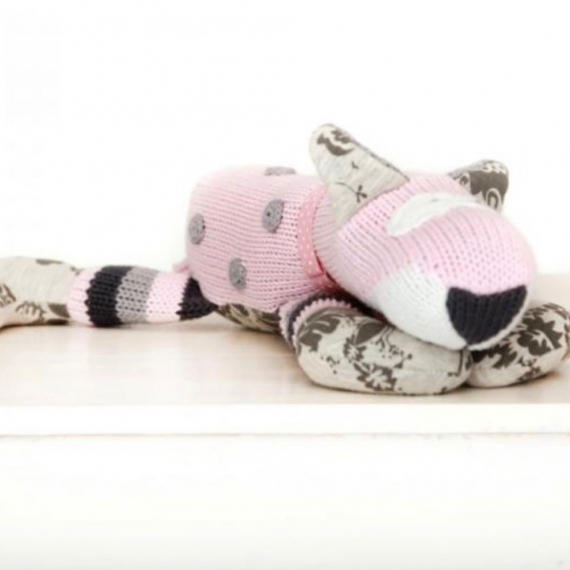 Knitted Nellie Dog Toy