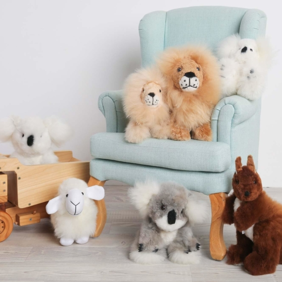 Alpaca Fleece Toy - Medium