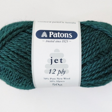 Patons Jet 12 ply - Forest 849