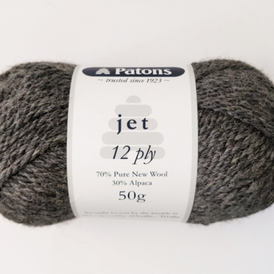 Patons Jet 12 ply - Ash 852
