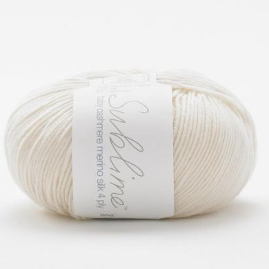 Sublime Baby Cashmere Merino Silk 4 Ply - Vanilla 003