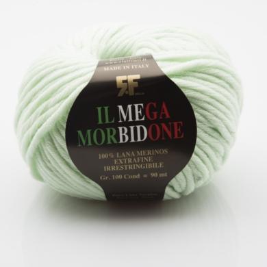 Mega Morbidone Merino 100g - Mint