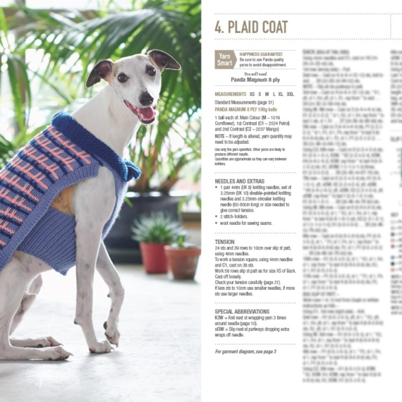 Pooch Power Dog Coats and Jumpers Pattern Book #0003