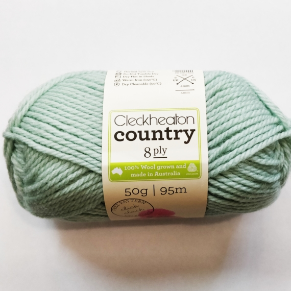 Cleckheaton Country 8 Ply - Soft Green 1962