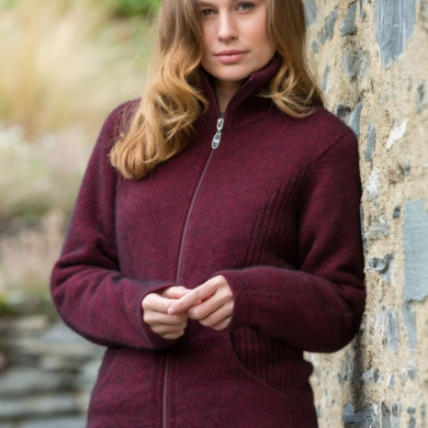 Noble Wilde Market Day Jacket - Port