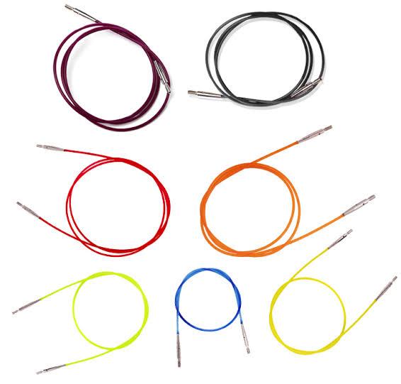 Knitpro Coloured Interchangable Cables