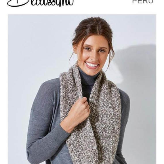 Bellissimo Peru Easy Cowl 12 Ply Pattern