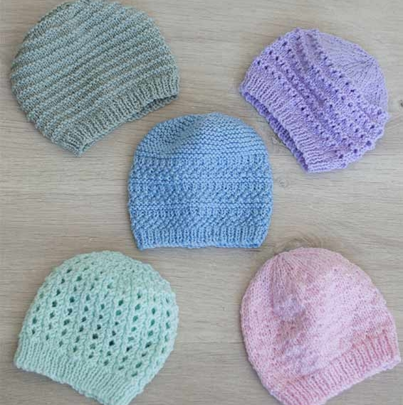 Naturally 8 Ply Beanie Pattern NB-4Y