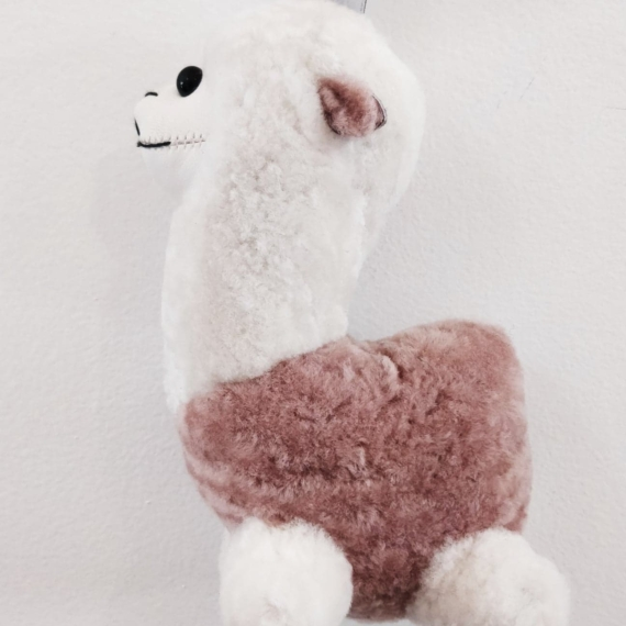 Sheepskin Alpaca Keyring