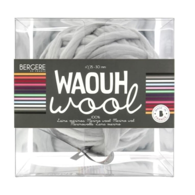 Bergere De France Waouh Wool 500g - Perle Grey