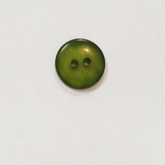Olive Green 15mm Button