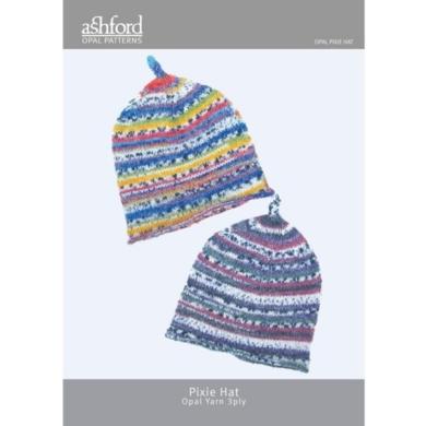 Ashford Opal Pixie Hat 3 Ply Pattern