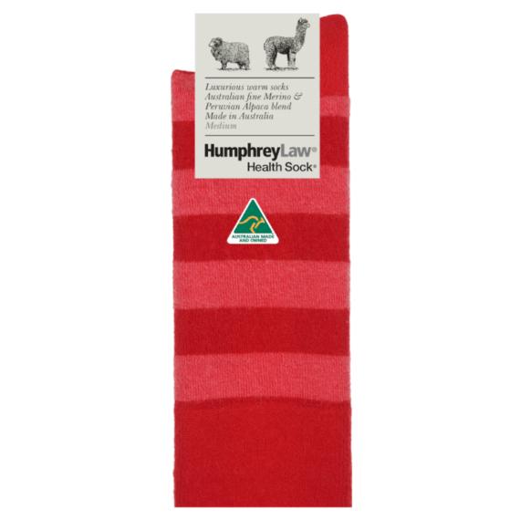 Humphrey Law Merino & Baby Alpaca Sock - Purple, Ladies 3-8