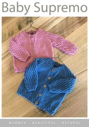 Baby Supremo Honeycomb Cardigan Pattern