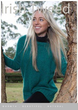 Irish Tweed Henbane Jumper Pattern