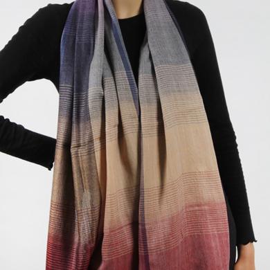 Merino Wool Scarf - Multi