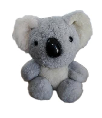 Sheepskin Koala 15cm - Light Grey
