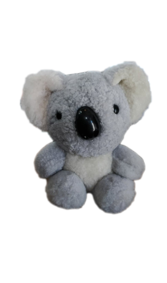Sheepskin Koala 15cm - Light Grey