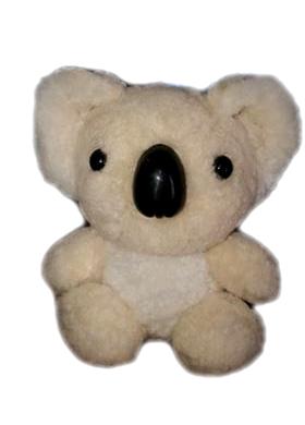 Sheepskin Koala 15cm - Beige