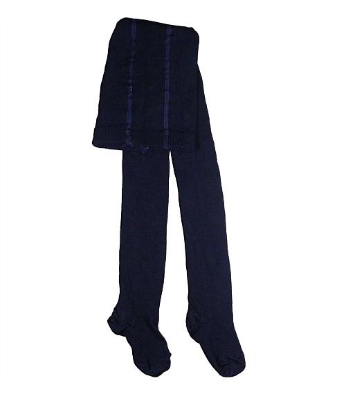 Columbine Baby Merino Wool Tights Navy