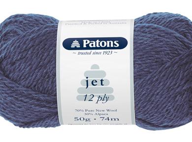 Patons Jet 12 ply - Port 848