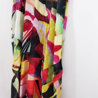 Woolanz Wool Scarf - Multi Print