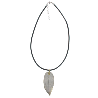 Gum Leaf Necklace - Copper