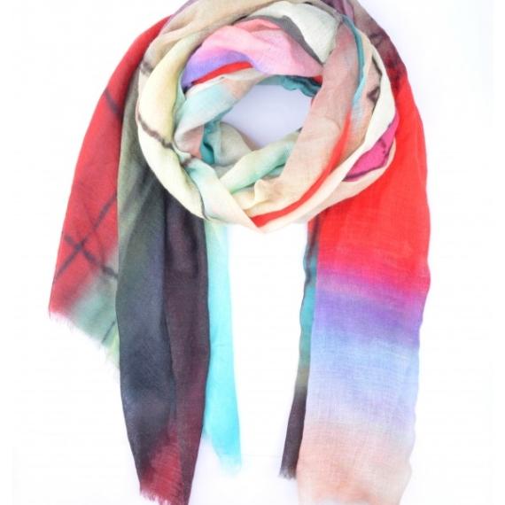 Merino & Silk Scarf - Dimensions