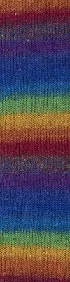 Cascade Melilla Silk Wool 100g - Rainbow 15