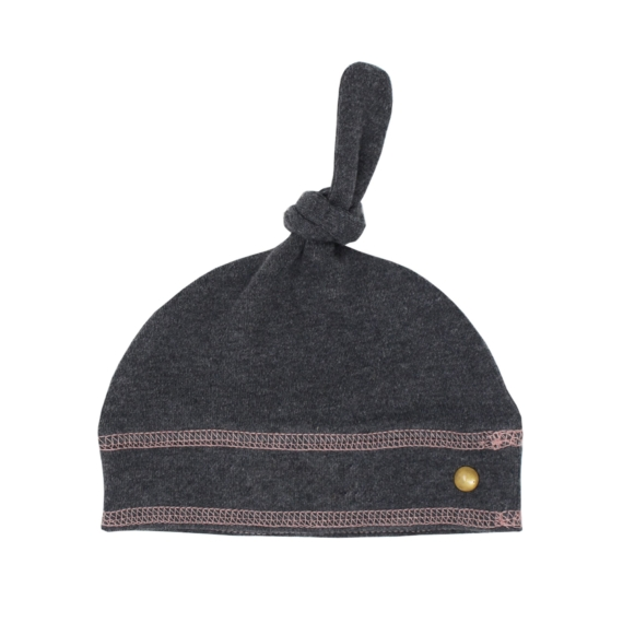 L'oved Baby Organic Banded Top knot Hat