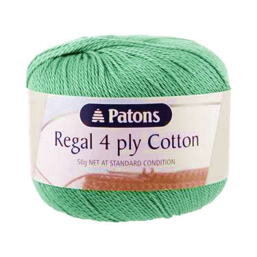 Patons Regal Cotton 4 Ply Jade #2930
