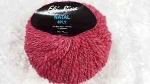 Eki Riva Natal Baby Alpaca 8 Ply Pink