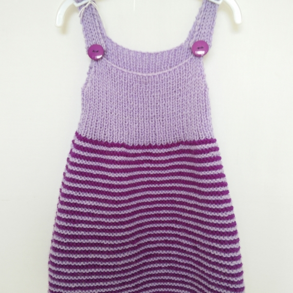 Baby Wool Pinafore Dress 6-12M