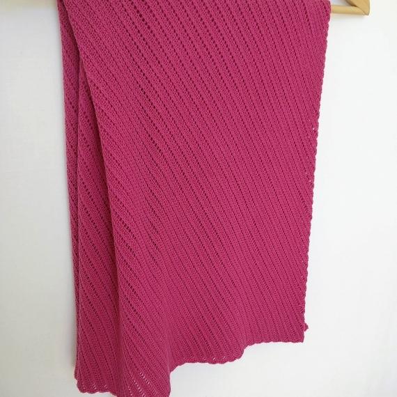 Patterned Merino Wool Baby Wrap