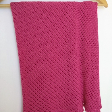 Patterned Merino Wool Baby Wrap