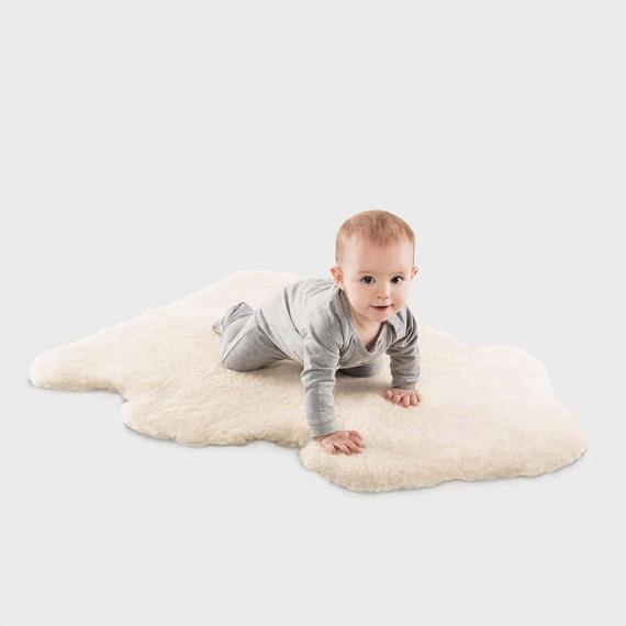Merino Sheepskin Baby Rug Large