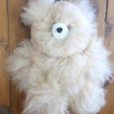 Baby Alpaca Fur Teddy Large