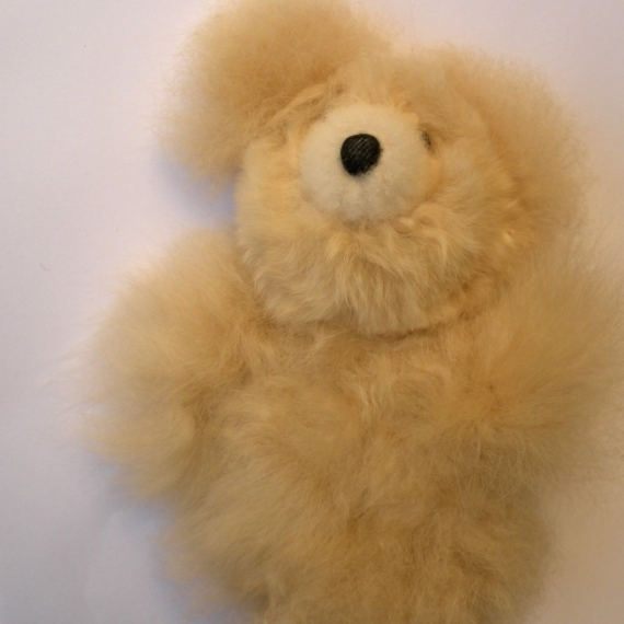 Baby Alpaca Fur Teddy Small
