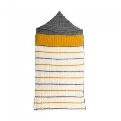 Baby Wool Sleeping Bag - Yellow