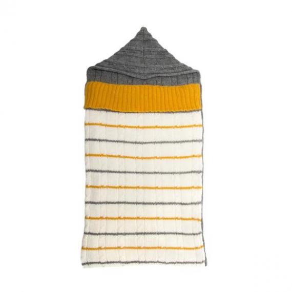 Baby Wool Sleeping Bag - Yellow