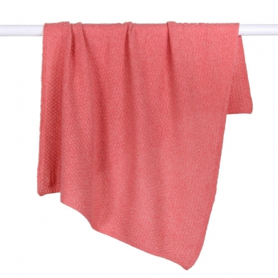 DLUX Soft Lambswool Baby Wrap Coral