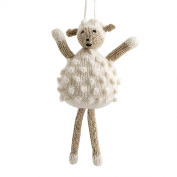 Knitted Alpaca & Wool Sheep