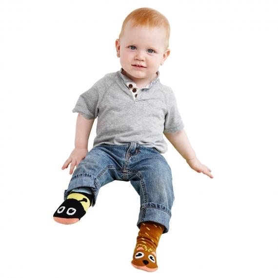 Pals Toddlers 3pk Mighty Mates Socks