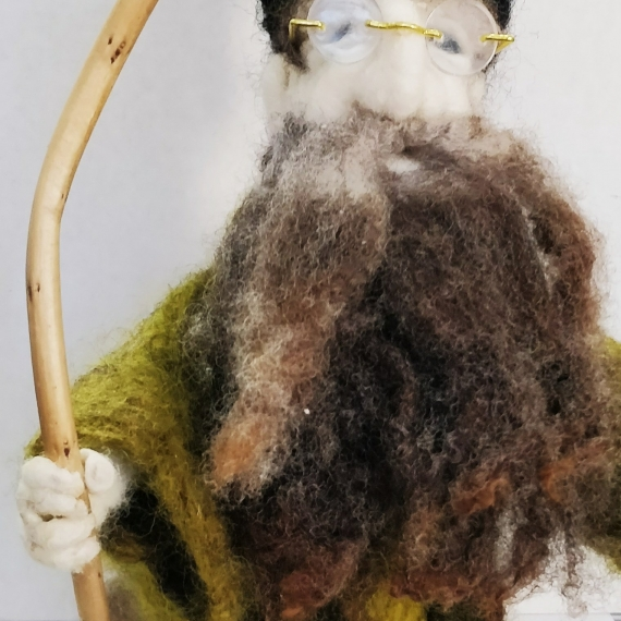 Felted Wool Wizard