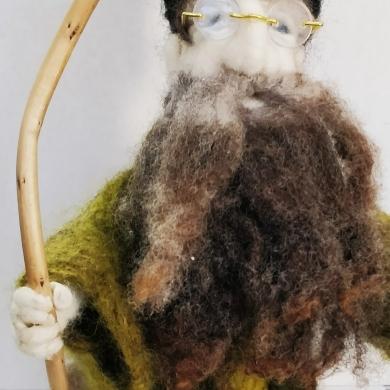 Felted Wool Wizard