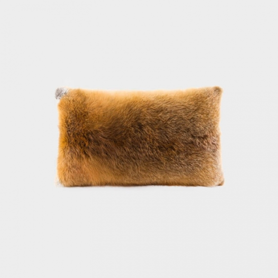 Fox Fur Rectangle Cushion