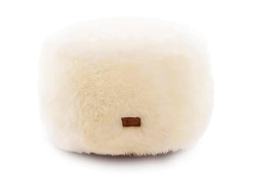 Sheepskin Ottoman Medium