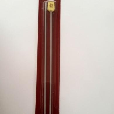 2.25mm Aluminum Knitting Needles 30cm