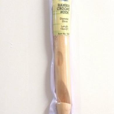 20.00mm Bamboo Crochet hook 15cm