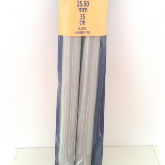 25.00mm Straight Needles 35cm